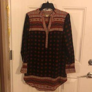 Gianni Bini tunic length blouse